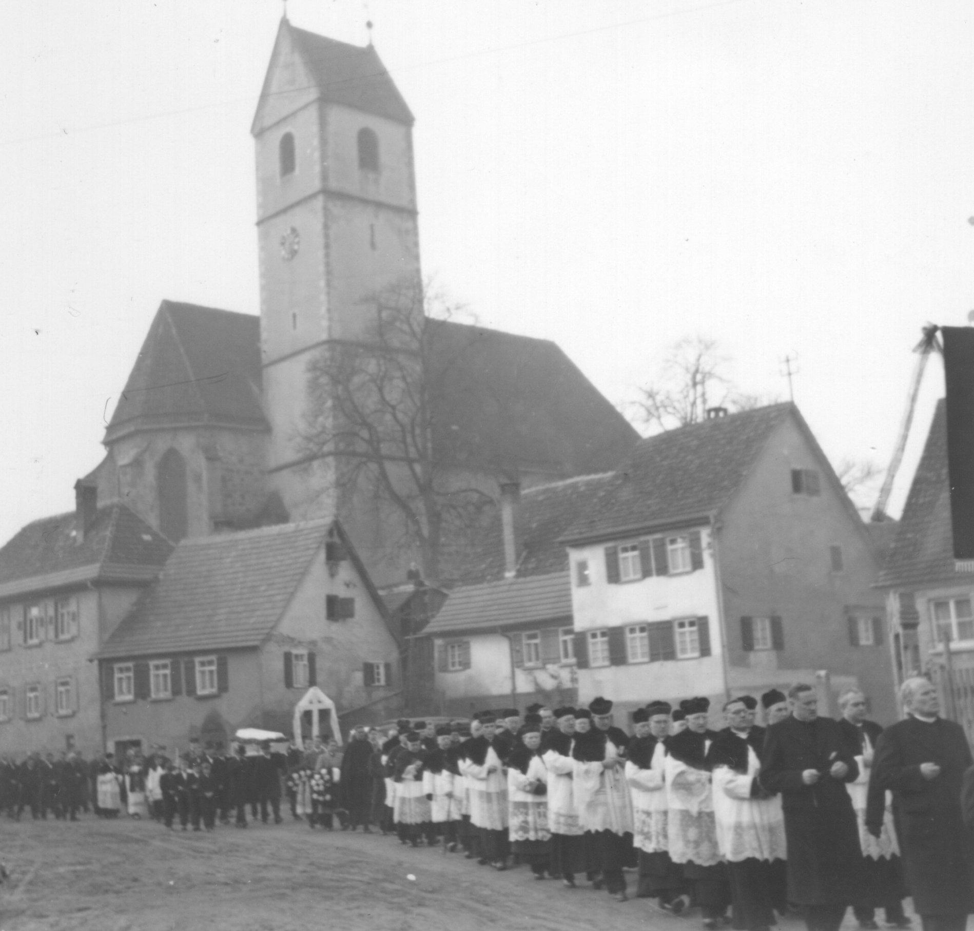 Beerdigungszug