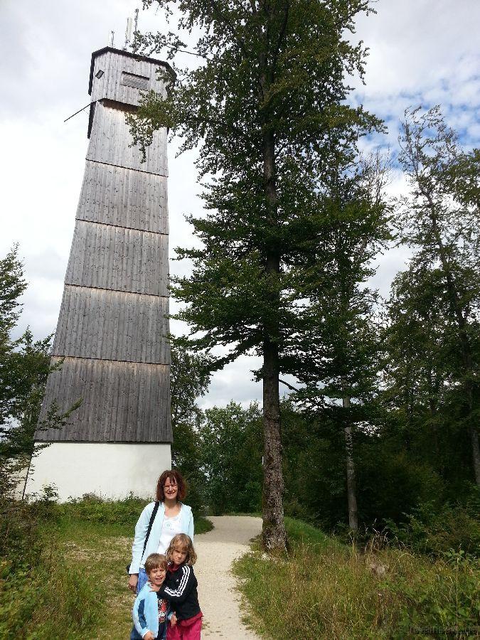 Gipfel des Sternbergs auf der schwäbischen Alb (844m)