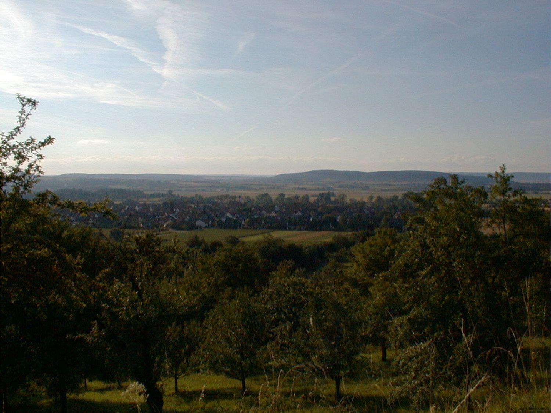 Blick vom Sonnenberg 2014